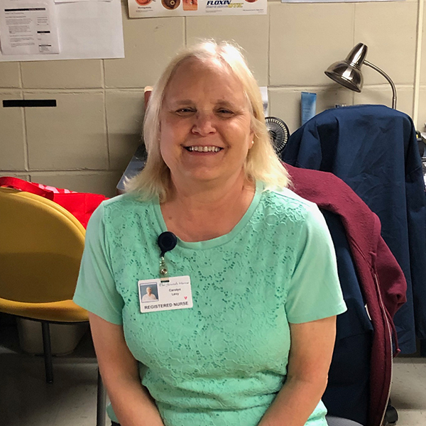Carolyn Levy, RN – Staff Development Coordinator